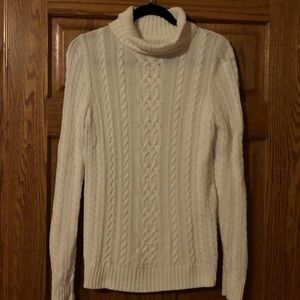 Croft & Barrow white sweater